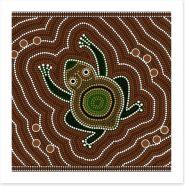 Aboriginal Art Art Print 41671689