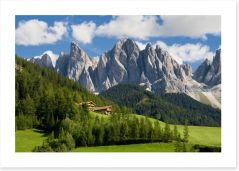 Mountains Art Print 41834243