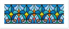 Stained Glass Art Print 432733520