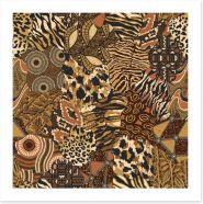 African Art Print 447872590
