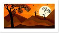 African Art Art Print 449830254