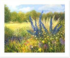 Wild flowers Art Print 44991046