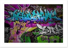 Graffiti culture Art Print 45283399