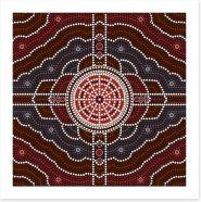 Aboriginal Art Art Print 46829647