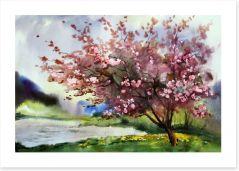Blossoming storm Art Print 46837890