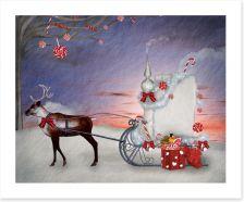 Christmas Art Print 46886489