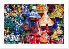 Tajine bazaar Art Print 46905975