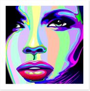 Rainbow girl Art Print 47472429