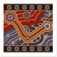 Boomerang creek Art Print 47694131