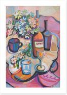 Dining Room Art Print 48151069