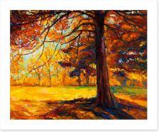 Under the Autumn tree