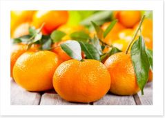 Tangerines Art Print 48374652