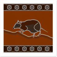 Aboriginal Art Art Print 49539062