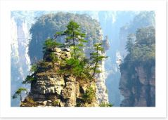 Mountains Art Print 49828442