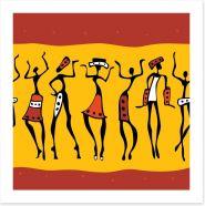 African Art Art Print 49901498