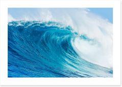 Blue barrel wave