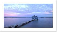 Matilda Bay boathouse Art Print 52253552