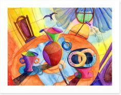 Good morning Art Print 52515680