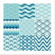 Making waves Art Print 52631624
