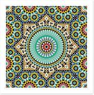 Marrakech glaze Art Print 52984390
