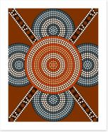Aboriginal Art Art Print 53207517