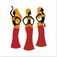 African Art Art Print 53252280