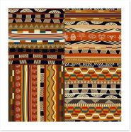 Tribal patchwork