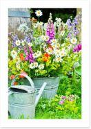 Wildflower blooms Art Print 53872148