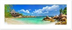 Paradise escape Art Print 53907878