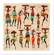 African Art Art Print 55270391