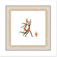 African Art Art Print 55515919