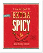 Extra spicy Art Print 55864880