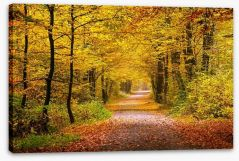 Golden forest Stretched Canvas 55873204