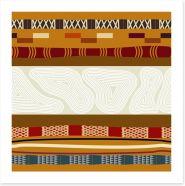 Tribal trails Art Print 56577555