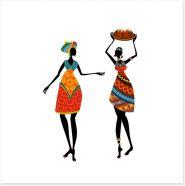 African Art Art Print 56639914