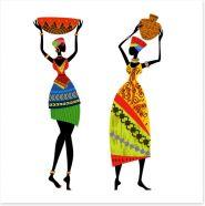 African Art Art Print 56640092