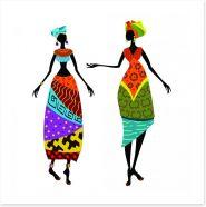 Tribal days Art Print 56640112
