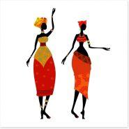 African Art Art Print 56640121