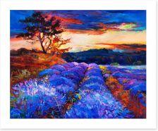 Lavender fields forever Art Print 57599278