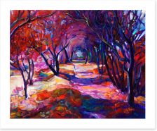 Path in the forest Art Print 57599283