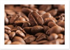 For the love of coffee Art Print 58264867