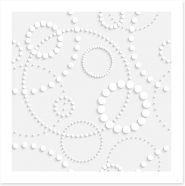 Intricate rings Art Print 59078976