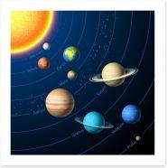 Rockets and Robots Art Print 59206454