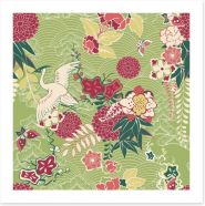 Oriental deco Art Print 59264166