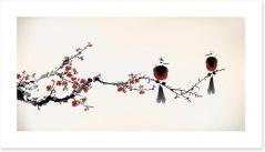 Tiny birds Art Print 59286485