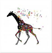 Anything goes giraffe Art Print 59750534