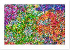 Pointillism perfection Art Print 59769180