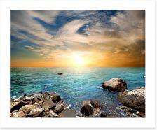 Aqua sundown