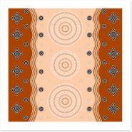 Aboriginal Art Art Print 60478653