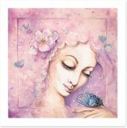 Butterfly dreaming Art Print 60884526